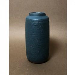 Tina Marie Cph Timbre Tall Vase Midnight Glaze Medium