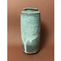 Tina Marie Cph Timbre Tall Vase Snow Glaze Large