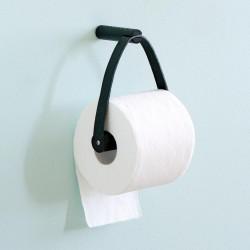 Toilet paper holder (sort)