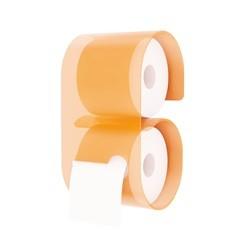 Toiletrulleholder i akryl - orange