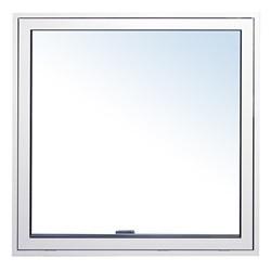 Topstyret vindue 59x59 ral 9010 træ/alu