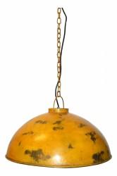 TRADEMARK LIVING loftpendel - slidt gul jern