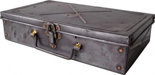 Trademark Living Rå gammel boks med låg og med cool patina