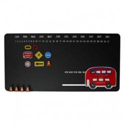 Trafik magnettavle (25×50×3 cm)