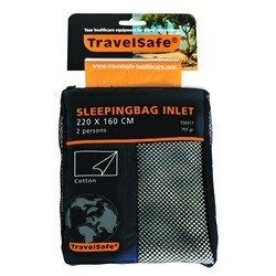 Travelsafe Sleeping Bag Inlet Envelope 2 pers Cotton TS0317