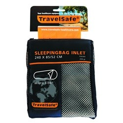 Travelsafe Sleeping Bag Inlet Mummy Microfibre TS0305
