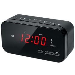 Trident Traders vækkeur - 10.500 DDL FM Dual - Sort