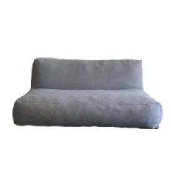 TROISPOMMESHOME 2 personers loungesofa - lysegrå Olefin stof