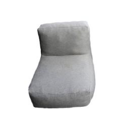 TROISPOMMESHOME loungestol - lysegrå Olefin stof
