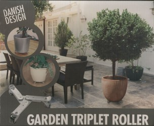 Trolley til plantekrukke (Ø20-25 cm)