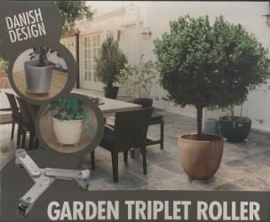 Trolley til plantekrukke (Ø25-30 cm)