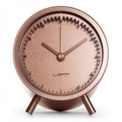 Tube clock (kobber)