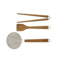 TYPHOON Køkkenredskap sæt Bambus LOTUS