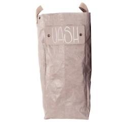 UASHMAMA vasketøjskurv - cachemire
