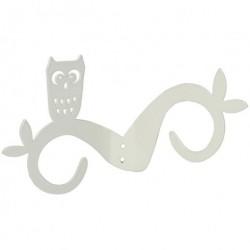 Ugle knage (hvid)