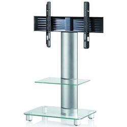Ultimate Pisa SQ60 TV Stander Alu/Klar Glas
