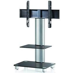 Ultimate Pisa SQ60 TV Stander Alu/Sort Glas