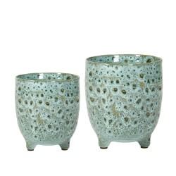 Urtepotter 2 stk. keramik
