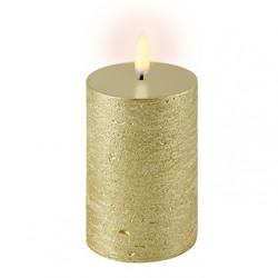 Uyuni LED Bloklys - 5x10 cm-Guld