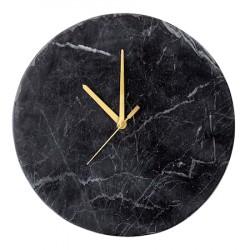 Vægur sort marmor