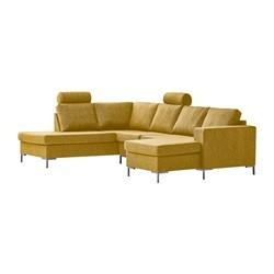 Valdis U-sofa højrevendt gul