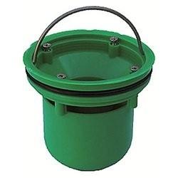 Vandlås til indbygning, kompatible med gl. støbejernsskåle
