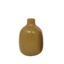 Vase chubby dotty (grØn)