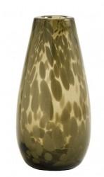 Vase Deco Clear Brun