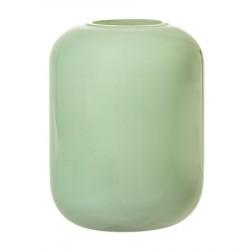 Vase Glas Ø 8,5 cm - Grøn