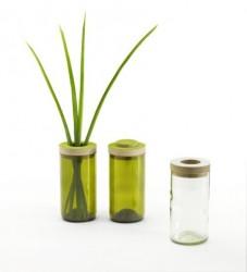 Vase (klar glas/eg)