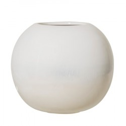 Vase Stentøj Ø 20 cm - Natur