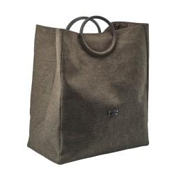 Vasketøjskurv JADA - brun