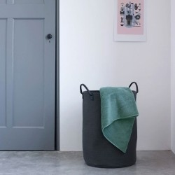 Vasketøjskurv Nort - sort