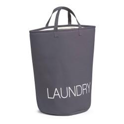 Vasketøjspose Laundry - grå