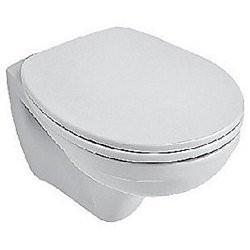 V&B Omnia hvid hængetoiletskål med Ceramic Plus