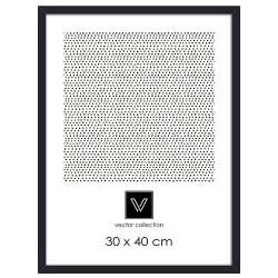 Vector ramme - Sort