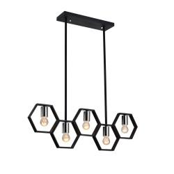 VENTURE DESIGN Queen B loftlampe - sort jern
