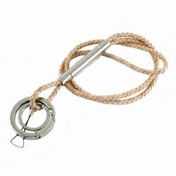 Verivinci nøglekæde - lys læder