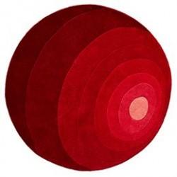 Verner Panton gulvtæppe - Luna - Rød
