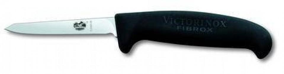 Victorinox Fuglekniv, sort Fibrox, lille håndtag