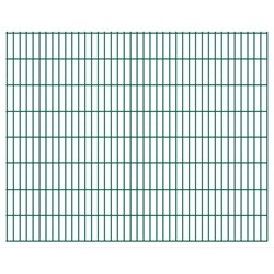 vidaXL 2D Garden Fence Panels 2008x1630 mm 28 m Green