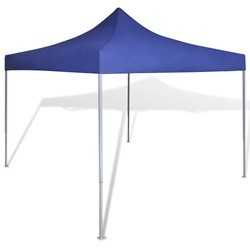 vidaXL Blue Foldable Tent 3 x 3 m