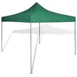 vidaXL Green Foldable Tent 3 x 3 m