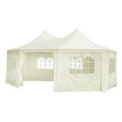 vidaXL Octagonal Party Tent White 6 x 4.4 x 3.5 m