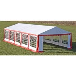 vidaXL Party Tent 10 x 5 m Red