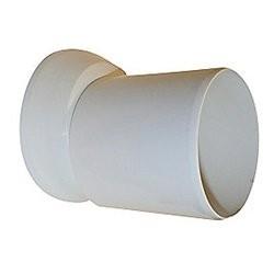 Viega tilslutningsrør 110 x 155 mm - hvid