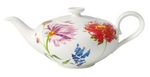 Villeroy & Boch Anmut Flowers Tekande 6 pers. 1,00l