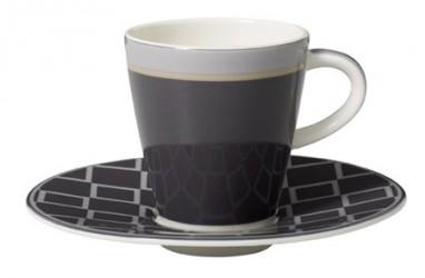 Villeroy & Boch Caffe Club Uni steam Espresso Kop&Underkop 2pcs