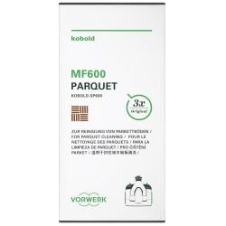 Vorwerk bomuldsmopper til parketgulv - MF600/601 - 3-pak