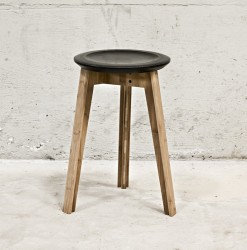 We Do Wood - Button Stool - Sort